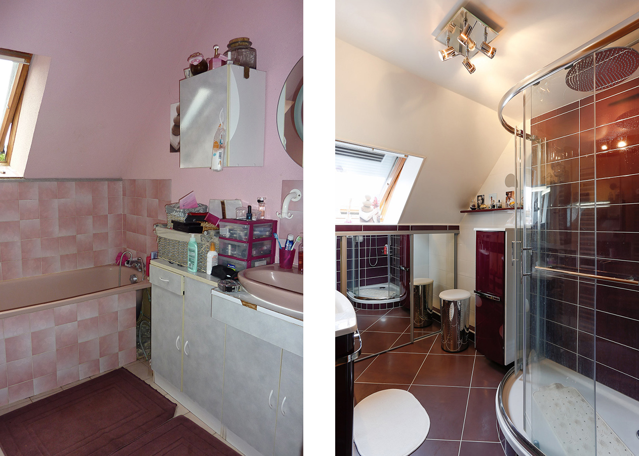 1 - Relooking salle de bain val d'oise