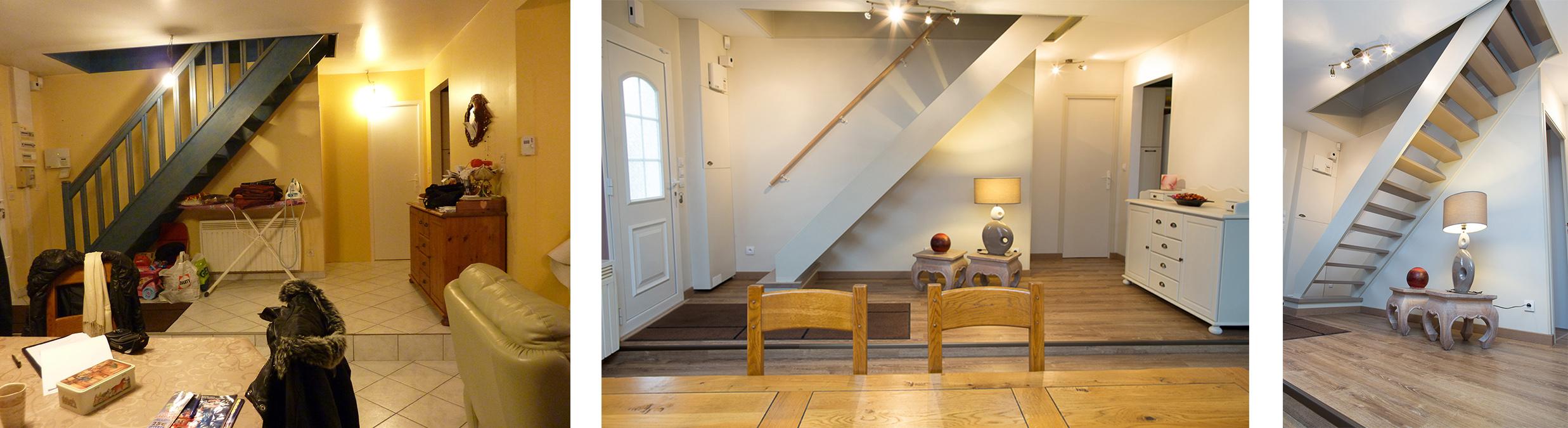 11 - modification et peinture escalier val d'oise