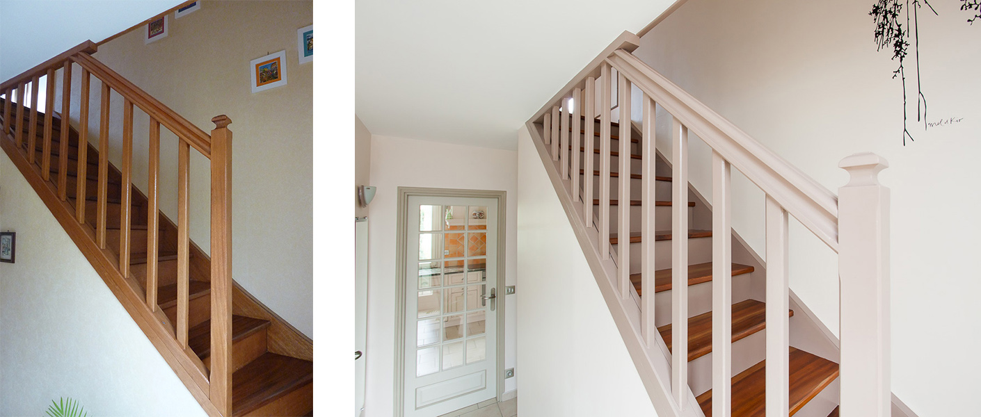 R alisations - Home staging escalier ...